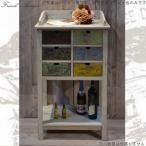 サイドボード キャビネット 60 おしゃれ 白 木製 アンティーク カントリー 家具 雑貨 キッチン収納 リビング収納 フランス人デザイナー