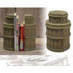 ブックスタンド 本立て ブックエンド 幅100×奥行き100×高さ280mm アンティーク カントリー 家具 雑貨 おしゃれ 卓上スタンド 机上 仕切り 木製