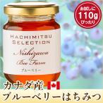 はちみつ 蜂蜜 ハチミツ カナダ産ブルーベリーのはちみつ110g