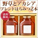 お歳暮 はちみつ 蜂蜜 ハチミツ 純粋はちみつ2点セットギフト(オリジナルブレンド 化粧瓶入500g×2本)