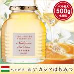 お中元ギフト はちみつ 蜂蜜 ハチミツ ハンガリー産アカシアはちみつギフト(500g化粧瓶入り)