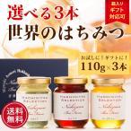 はちみつ 蜂蜜 ハチミツ 選べる世界のはちみつお試しセット(110g×3本) 北海道送料別途550円
