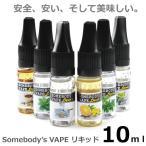 電子タバコ リキッド 禁煙グッズ タバコ味 強メンソール ミント味 Somebody's VAPE liquid 10ml