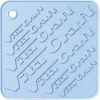 ビタクラフト 鍋敷き シリコン ホットマット ライトブルー 9702