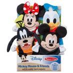 ディズニー ミッキーマウス ミニーマウス ドナルド グーフィー 可愛いパペット4体セット 人形 ぬいぐるみ 言葉遊び 知育玩具 [並行輸入品]