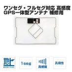 高感度 アンテナフィルム   GPS ワンセグ アンテナ GPS一体型 補修用 フルセグ対応 地デジフィルム 張替え  イクリプス  カロッツエリアガラスクリーナー