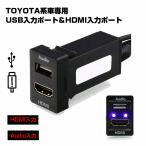 USB入力ポート HDMI入力ポート オーディオパーツ スイッチホールパネル TOYOTA トヨタ車系用   トヨタ スズキ ダイハツ Aタイプ 33x22.5mm