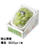 ぶどう シャインマスカット 晴王 優品 800gx1房 岡山県産 JAおかやま 葡萄 ブドウ