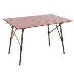 アルミニウム キャンプテーブル  TIMBER RIDGE 約110cm×70cm×70cm コストコ