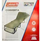 送料無料 コールマン コンバータ コットラウンジャー 折りたたみチェア グリーン Colemen キャンプア アウトドア チェア