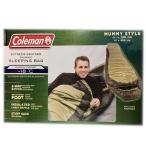 コールマン シュラフ 寝袋 -18℃まで対応 大人用 208cm×81 封筒型 EXTREME WEATHER MUMMY SLEEPING BAG COLEMAN 2WAY