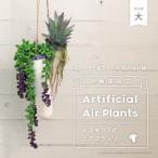 観葉植物 光触媒加工 エアプランツ 人工観葉植物 ハンギングプランター 吊り下げ植物 造花 大サイズ 全5種