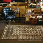 Yahoo!敷物市場玄関マット 室内 屋内 トリアノン 3849-4751 約67×120cm 高級 洋風 エレガント モロッコスタイル ヴィンテージ