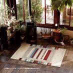 ラグ カーペット 絨毯 ロボ 約200×200cm (約2畳半) エスニック カジュアル ボタニカル ネイティブ ラグマット