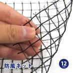 防風ネット ワイドラッセル 防風網 風除け 約幅2×長さ100m (12mm) BK12 風ガード 風よけ 鳥よけ 防風シート