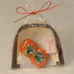 京焼・清水焼 箸置 袋入 5個セット 柿 | 誕生日 母の日 父の日 敬老の日 退職祝 結婚祝 内祝 出産祝 ギフト 歳暮 中元 プレゼント |