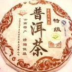 餅茶 大葉種プーアル茶(熟)特級