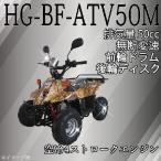 四輪バギー ATV 50cc ハイガー産業 前進1 HG-BF-ATV50MA