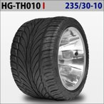 四輪バギー ATV ホイール付タイヤ 10インチ 235/30-10 HG-TH010 ハイガー産業 I