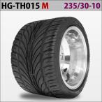 四輪バギー ATV ホイール付タイヤ 10インチ 235/30-10 HG-TH015 ハイガー産業 M