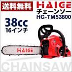 (1年保証) チェーンソー ( チェンソー ) 16インチ 38cc HG-TM53800