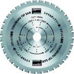 トラスコ中山:TRUSCO トクマルチップソー 180X36P TCT-180N 型式:TCT-180N