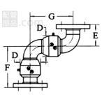 昭和技研工業 パールスイベルジョイント C型 スタイルNo.5 パールC-5-50A