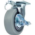SAMSONG 重荷重用キャスター 自在 ゴム車125mm ブレーキ付 ( TP6650-MIR BB TG TLB ) SAMSONG CASTER