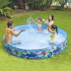 ガーデンプール 240cm 水遊び 家庭用プール