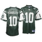 NFL Reebokレプリカジャージ NYJ #10 C.Pennington Green