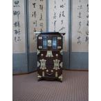 李朝家具-アジアンモダンなインテリア-格子扉2段引出しキャビネット-r-2306-韓国インテリア