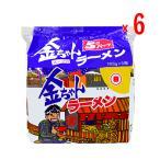徳島製粉 金ちゃん ラーメン 5食パック  6個入【徳島ご当地グルメ】【発送重量 5kg】codeB1