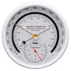 三王Sunoh TYPE-SBR151 アネロイド型指示気圧計(温度計付) 直径165mm