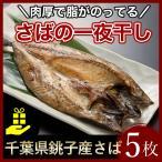 (国産 さばの一夜干し 5枚)鯖 サバ 干物 贈り物 ギフト プレゼント 千葉県 銚子産 博多ふくいち