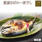 (特大 国産 さばの一夜干し 3枚 ) 鯖 干物 贈り物 ギフト プレゼント 千葉県 銚子産《博多ふくいち》
