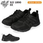 アキレス 瞬足 JJ-189 スニーカー キッズ 黒 ブラック カップインソール シューレース 運動靴 ジュニア 子供靴 20FW08