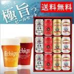 地ビール 飲み比べセット 12本 缶 | クラフトビール エチゴビール 定年退職 記念品 男性 プレゼント 祝い ギフト 内祝い
