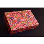 極上生菓子6入箱、箱、和紙、千代紙、化粧箱、ジュエリーボックス、ギフトボックス、筆箱、友禅和紙貼り箱1個=10円
