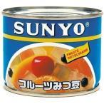 アイサンヨー フルーツみつ豆 6号 200g ×12入り
