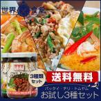 パッタイ ガパオ トムヤムペースト お試しセット タイ料理 調味料 送料無料