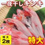 金目鯛 - きんきの干物 キンキ 魚 一夜干し 開き干し) キンキの一夜干し 特大×2枚入(500g前後×2枚) ロシア産きんき 真空パック