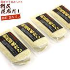 利尻昆布だし だしの素 顆粒 90g×4袋(お味噌汁 約216杯分) 利尻こんぶの旨みが生きる風味調味料 メール便 送料無料 ポイント消化 食品