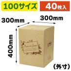 (花の宅配箱)フラワー&グリーン 100サイズL / 40枚入(F-501)