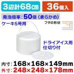 (発泡スチロールの箱)発泡ボックスDIC-5/36個入(NK-286)