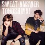 CD)東方神起/Sweat/Answer(初回出荷限定盤(初回盤))(DVD付) (AVCK-79197)