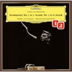 CD)ベートーヴェン:交響曲第1番・第2番 カラヤン/BPO (UCCG-5301)