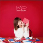 CD)(特典付)MACO/love letter(初回限定盤)(DVD付) (UICV-9209)