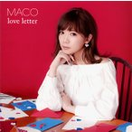 CD)MACO/love letter(通常盤) (UICV-1073)