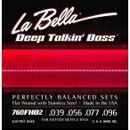 La Bella ラベラ ベース弦 760FHB2 Hofner Beatle Bass 039-096 ステンレス フラットワウンド