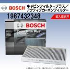 プジョー 206 BOSCH キャビンフィルタープラス 輸入車用エアコンフィルター 1987432348